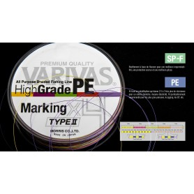 Tresse VARIVAS HI-GRADE Marking Type II X4