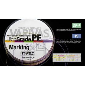 Tresse VARIVAS HI-GRADE Marking Type II X8