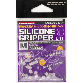 SILICONE GRIPPER L DECOY
